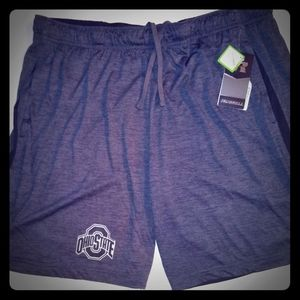 Ohio State Buckeyes Dry Fit Athletic Shorts New